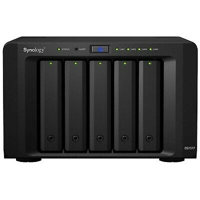 Synology DS1517 2GB DiskStation 5-Bay Scalable NAS - Diskless