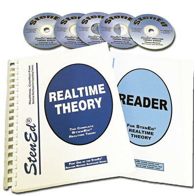 StenEd Student Theory Pack Realtime, 2 Books & 5 CD's