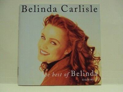Belinda Carlisle: The Best Of Volume 1 [12 Track Cd] Greatest Hits, Go-Gos