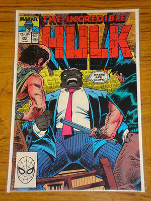 Incredible Hulk #356 Vol1 Marvel Comics June 1989