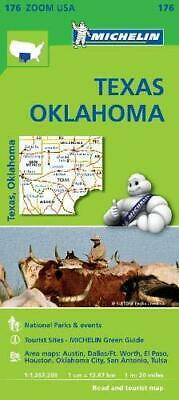 Texas - Oklahoma Zoom Michelin Map 176