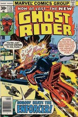 Ghost Rider (1st Series) #22 1977 VG 4.0 Stock Image Low Grade