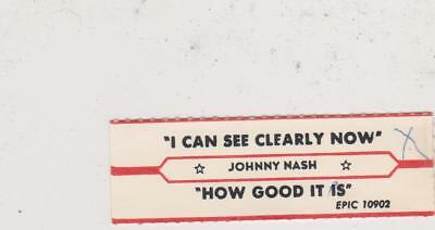 Johnny Nash-I Can See Clearly- Jukebox Title Strip