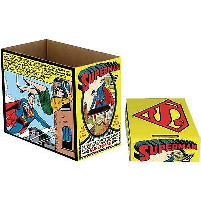 DC Comic Box (kurz) Superman Comic Panel