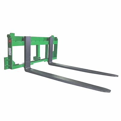 """UA Made in the USA 42"""" Pallet Fork with 2"""" Trailer Receiver Hitch fit John Deere"""