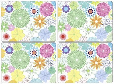 Portmeirion Crazy Daisy Large Placemats, Set of 4