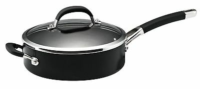 Circulon Premier Professional covered Saute Pan, Hard-Anodized Aluminum, Blac...