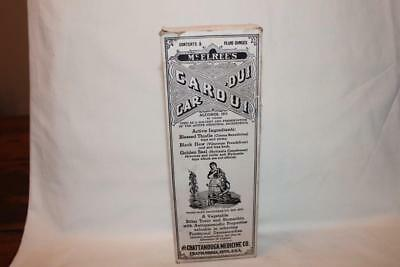 Vintage McElree's Cardui Bottle with Original Box and Instructions
