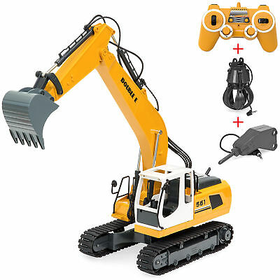 BCP 1/16 Scale RC Excavator Truck - Yellow