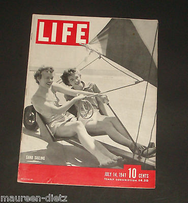 July 14, 1941 LIFE Magazine Old ad ads, FREE SHIPPING 7 41 11 12 13 15 16 17 18