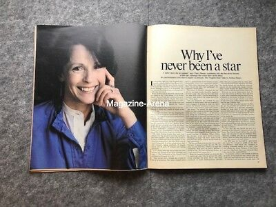 Claire Bloom / Never been a star /  Vintage 1 day only Magazine
