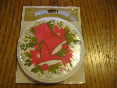 Vintage Hallmark Christmas Bells Coasters New In Package