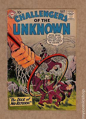 Challengers of the Unknown (DC 1st Series) #7 1959 VG- 3.5