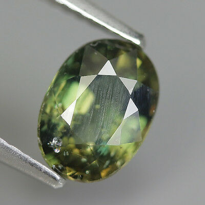 1.37 Ct Natural Unheated Greenish Yellow KORNERUPINE Oval Gem @ See Video !!