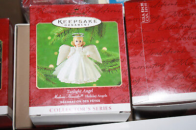 "Madame Alexander Holiday Angels ""Twilight Angel"" Hallmark Ornament, 2000, NIB"