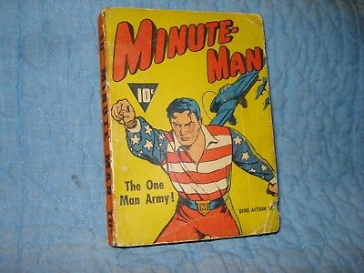 Minute Man, The One Man Army, Dime Action Book, Fawcett