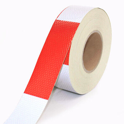 """2""""x150' DOT-C2 Reflective Safety Warning Conspicuity Tape Film Sticker Truck"""
