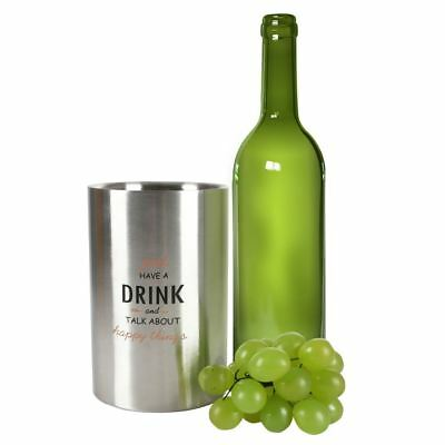 Wine Cooler Made of Stainless Steel Bottle Champagne Ice Bucket