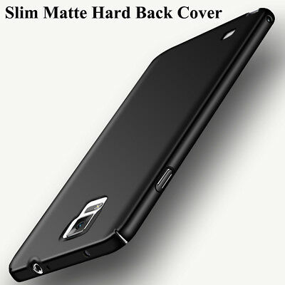 For Samsung Galaxy Note 4, Slim Matte 360 Full Protection PC Hard Cover Case