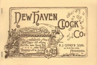 New Haven Clock Co., 1886 Catalog Reprint with 1887 Price List