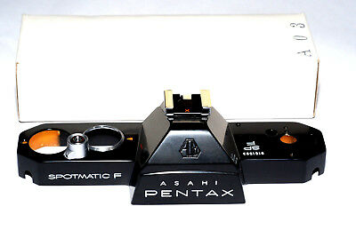 Asahi Pentax Oberkappe Spotmatic SP F / new black top cover - old stock (NEU)