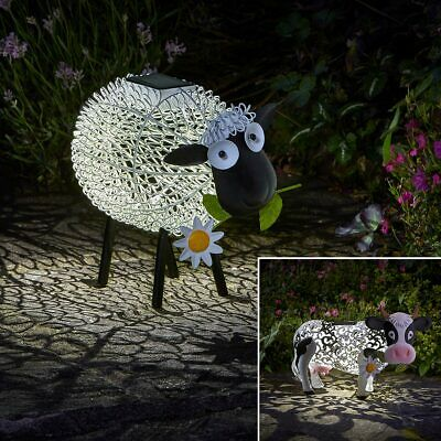 Festive Lights Solar Power Outdoor Novelty LED Light Up Fairy House Ornament
