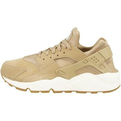 NIKE Air Huarache Run SD WOMEN Scarpe Donna Suede Sneaker Mushroom aa0524200