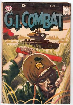 G.I. Combat  # 81  strict  VG/FN- Cover Grey Tone