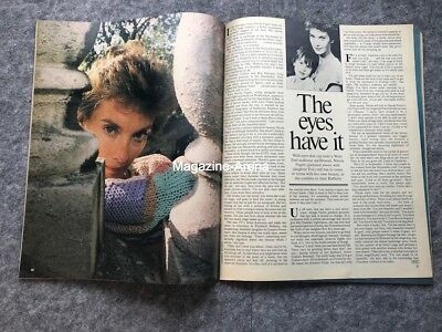 Nicola Pagett Susie Bick Nigel Havers  The three Degrees 1 day only Magazine