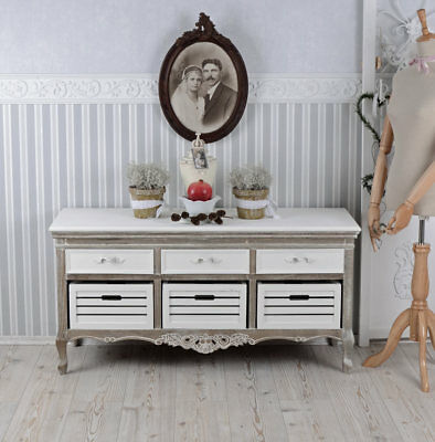 Sideboard Country House Style Dresser Drawers Lowboard Wardrobe Antique Dresser