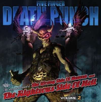 Five Finger Death Punch - The Wrong Side Of Heaven Volume 2 NEW CD