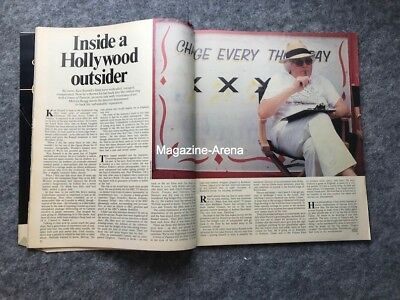 Ken Russell / Boy George Terence Stamp / Julian Lennon /  1 day Magazine