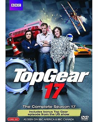 Top Gear: The Complete Season 17 (DVD 3-Disc Set) NEW