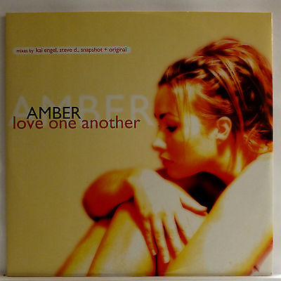 "Amber : Love One Another  |  12"" Maxi Single 2000"