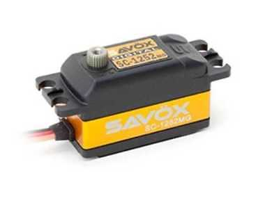 Savöx SC-1252MG Low-Profile Digital Servo - Savox SC1252MG