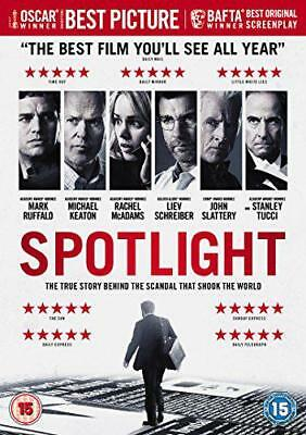Spotlight [DVD] [2016], DVD, New, FREE & Fast Delivery