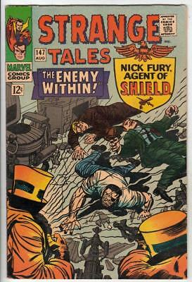 Strange Tales # 147 strict NM/NM-  appearance Nick Fury Agent of S.H.I.E.L.D