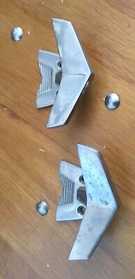 Vintage Stainless Steel Vollrath Retro Airplane Shape Boat Cleats