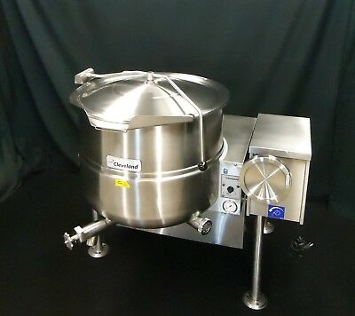 Steam Jacketed Tilt Kettle Cleveland Gas 40 Gallon Kgl-40T - 90 Day Waranty!!
