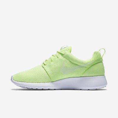 4f1c113d0c538 NIB Nike Roshe One Shoes Trainer Ghost Green Wht Lime 511882-111 WOMEN S Sz  9.5