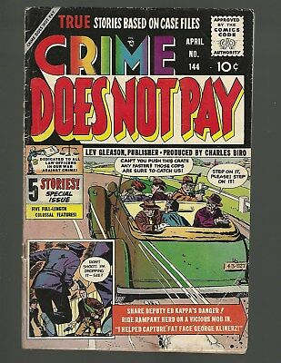 Crime Does Not Pay #144 Charlis Biro