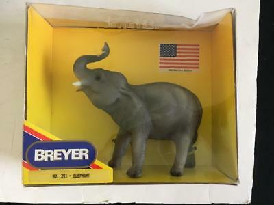 """Breyer Elephant collectible 7"""" tall toy in box 1992 Election Edition 391"""