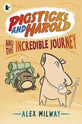 Pigsticks and Harold and the Incredible Journey (Paperback), Milw. 9781406340556