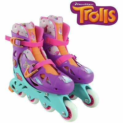 Trolls Adjustable In-Line Skates.