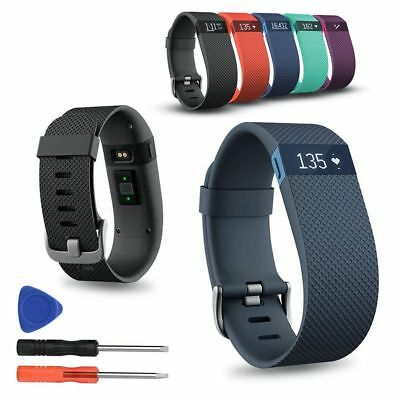 Sport Silicone Bracelet Remplacement Montre Bande Pour Fitbit Charge HR Tracker