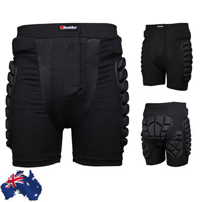 AU Skiing Motocross Motorcycle Protection Padded Pant Sport Hip Bum Armour Short