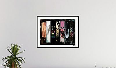 Coldplay - Kunst Modern Art - The 7 Album Covers - Acryl Collage - signiert
