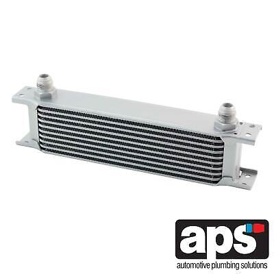 """APS Gearbox / Diff / Engine Oil Cooler 10 Row 235mm 1/2"""" BSP Male Fittings"""