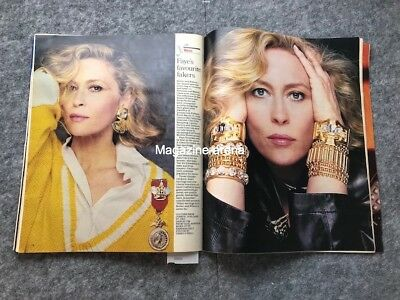 Peter Barkworth  / Evelyn Laye / Faye Dunaway Terry O'neill 1 day only Magazine