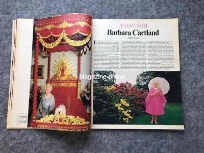 Yul Brynner / Matthew Modine / Lauren Bacall Barbara Cartland / UK  Magazine